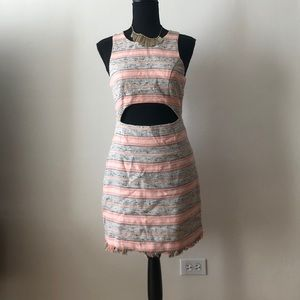 Mini cut out dress!